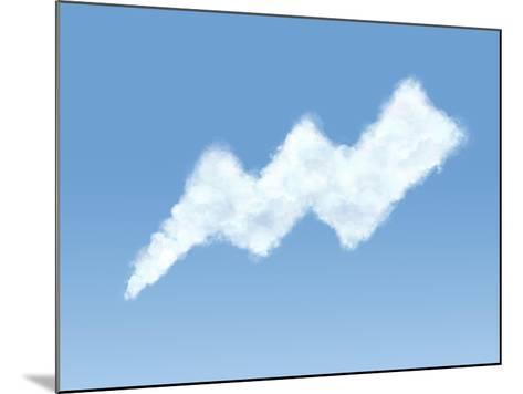 Cloud in the Form of Shape-Konrad B?k-Mounted Photographic Print