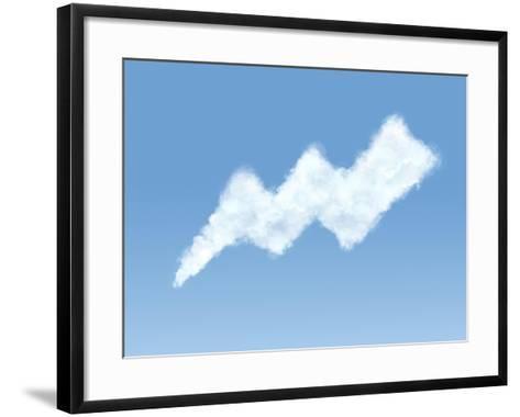 Cloud in the Form of Shape-Konrad B?k-Framed Art Print