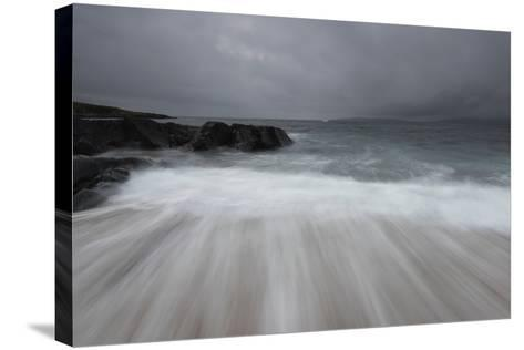 Flowing Tide-Stewart Smith-Stretched Canvas Print