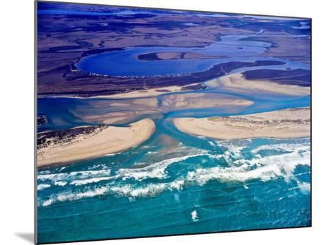 Mouth of Murray River, South Australia-Bill Bachman-Mounted Photographic Print