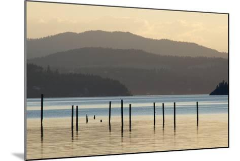 Coeur D'Alene Lake at Dusk-Nick Dale-Mounted Photographic Print