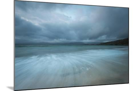 Dramatic Stormy Skies and Flowing Tide-Stewart Smith-Mounted Photographic Print