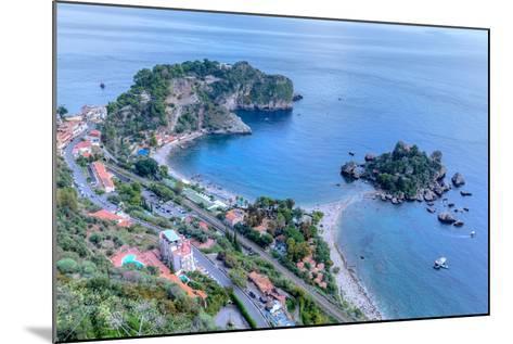 Isola Bella, Taormina, Messina, Sicily, Italy-Joana Kruse-Mounted Photographic Print