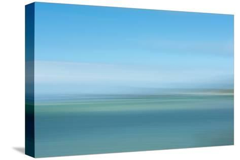 Intentional Camera Movement (Icm) Image of Turquoise Sea-Stewart Smith-Stretched Canvas Print
