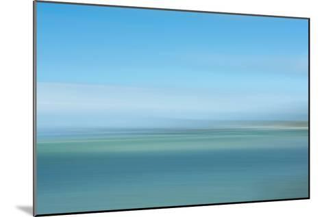Intentional Camera Movement (Icm) Image of Turquoise Sea-Stewart Smith-Mounted Photographic Print