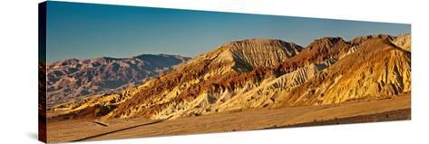 Rock Formations in Golden Canyon Area-Marek Zuk-Stretched Canvas Print