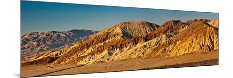 Rock Formations in Golden Canyon Area-Marek Zuk-Mounted Photographic Print