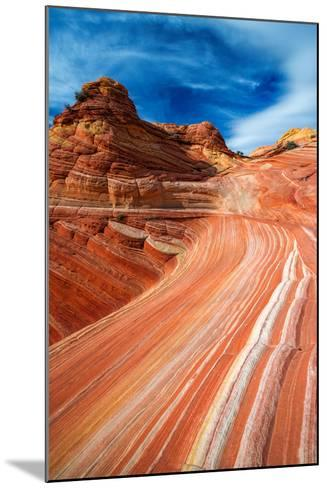 The Wave, Coyote Buttes, Paria-Vermilion Cliffs Wilderness, Arizona Usa-Russ Bishop-Mounted Photographic Print