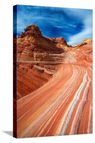 The Wave, Coyote Buttes, Paria-Vermilion Cliffs Wilderness, Arizona Usa-Russ Bishop-Stretched Canvas Print