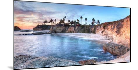 Sunset View of Treasure Island Beach at the Montage in Laguna Beach, California, United States-Stephanie Starr-Mounted Photographic Print