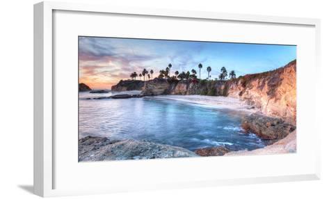Sunset View of Treasure Island Beach at the Montage in Laguna Beach, California, United States-Stephanie Starr-Framed Art Print