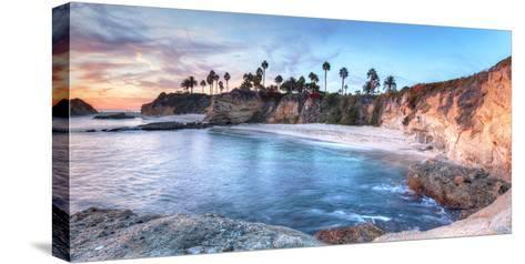 Sunset View of Treasure Island Beach at the Montage in Laguna Beach, California, United States-Stephanie Starr-Stretched Canvas Print