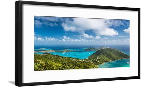 Virgin Gorda in the British Virgin Islands of the Carribean-Sean Pavone-Framed Art Print