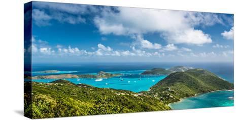 Virgin Gorda in the British Virgin Islands of the Carribean-Sean Pavone-Stretched Canvas Print