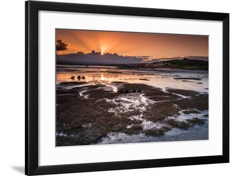 Northam Burrows Daybreak-Terry Mathews-Framed Art Print