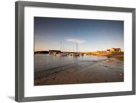 Sunrise in Lyme Regis, Dorset England UK-Tracey Whitefoot-Framed Art Print