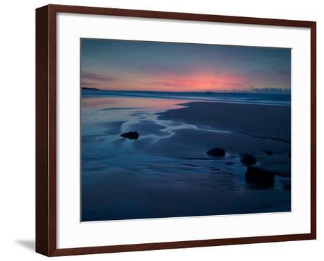 The Rising Sun High Lights Atmospheric Ash Travelled from Far Away in Chile-Matt Smith-Framed Art Print