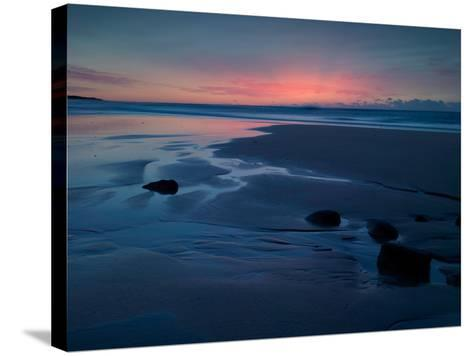 The Rising Sun High Lights Atmospheric Ash Travelled from Far Away in Chile-Matt Smith-Stretched Canvas Print