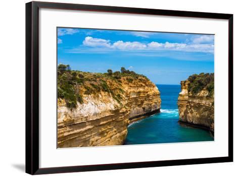 Shipwreck Coast, Australia-Zhencong Chen-Framed Art Print