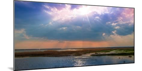 Summer Sunset over the Tranquil Lake-Liviu Pazargic-Mounted Photographic Print