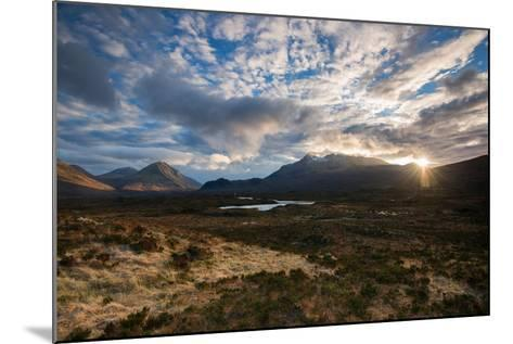The Black Cuillin at Sligachan, Isle of Skye Scotland UK-Tracey Whitefoot-Mounted Photographic Print