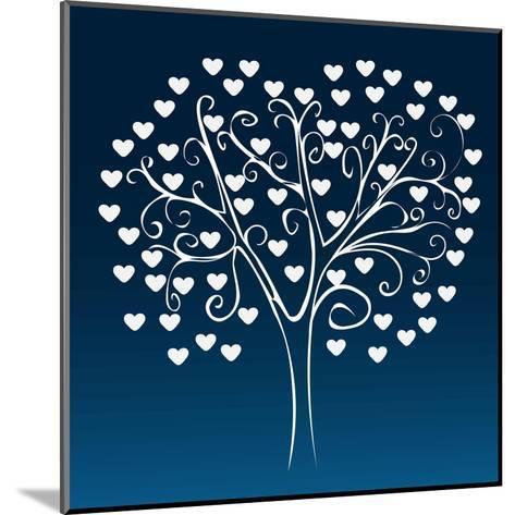 Tree with Hearts-Elena Kozyreva-Mounted Art Print