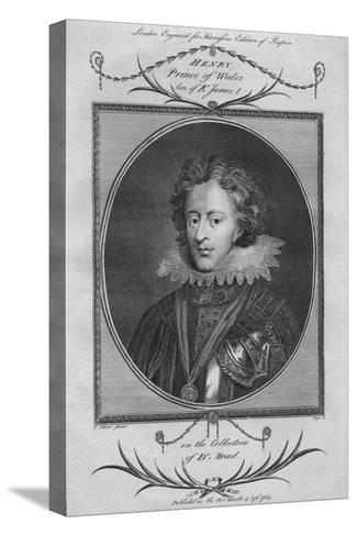 Henry, Prince of Wales, son of King James I, 1784--Stretched Canvas Print