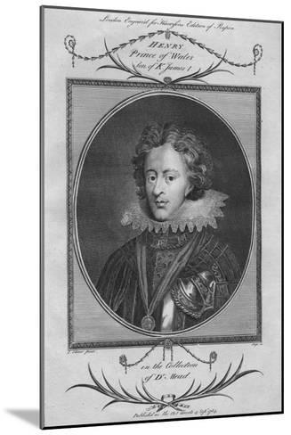 Henry, Prince of Wales, son of King James I, 1784--Mounted Giclee Print