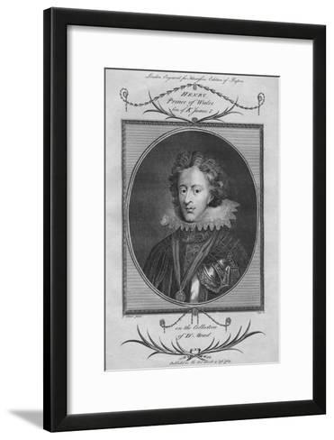 Henry, Prince of Wales, son of King James I, 1784--Framed Art Print