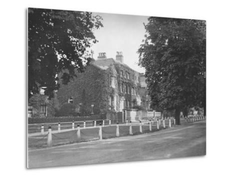 In College Road, Dulwich, (1912)--Metal Print