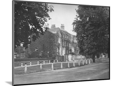 In College Road, Dulwich, (1912)--Mounted Photographic Print