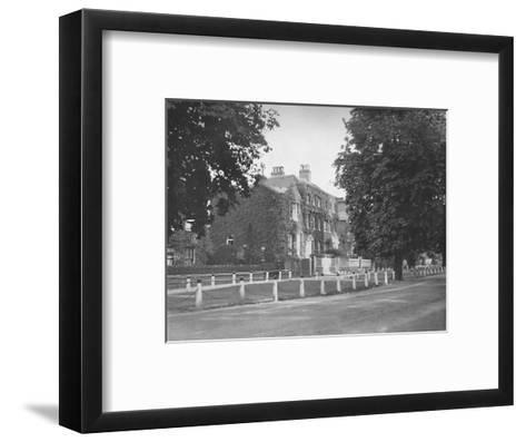 In College Road, Dulwich, (1912)--Framed Art Print