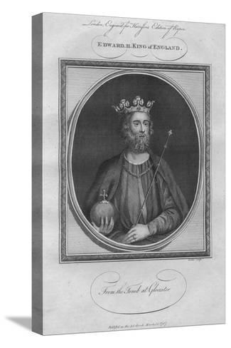 King Edward II, 1787--Stretched Canvas Print