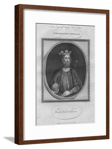 King Edward II, 1787--Framed Art Print