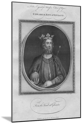 King Edward II, 1787--Mounted Giclee Print