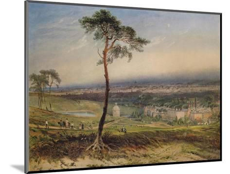 London, from Hampstead, 1834-George Sidney Shepherd-Mounted Giclee Print