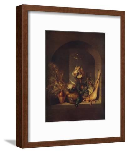 Still Life, 1824-Benjamin Blake-Framed Art Print