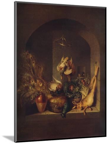 Still Life, 1824-Benjamin Blake-Mounted Giclee Print