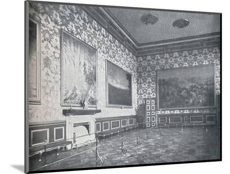 The Banqueting Room at St. Jamess Palace, c1899, (1901)-HN King-Mounted Photographic Print
