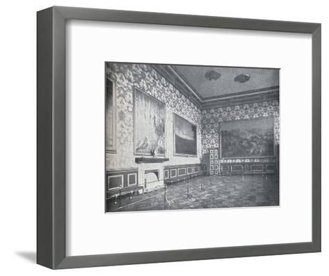 The Banqueting Room at St. Jamess Palace, c1899, (1901)-HN King-Framed Art Print