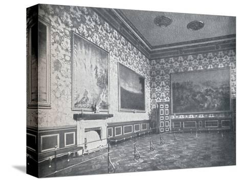 The Banqueting Room at St. Jamess Palace, c1899, (1901)-HN King-Stretched Canvas Print