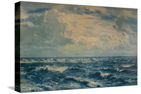 A Silvery Day West of the Needles, Isle of Wight, 1932-Henry Moore-Stretched Canvas Print