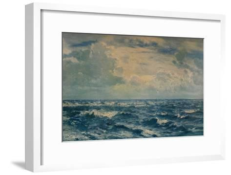 A Silvery Day West of the Needles, Isle of Wight, 1932-Henry Moore-Framed Art Print