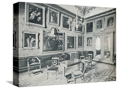 The State Dressing Room at Windsor Castle, c1899, (1901)-HN King-Stretched Canvas Print