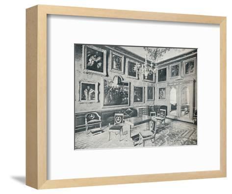 The State Dressing Room at Windsor Castle, c1899, (1901)-HN King-Framed Art Print