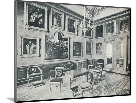 The State Dressing Room at Windsor Castle, c1899, (1901)-HN King-Mounted Photographic Print