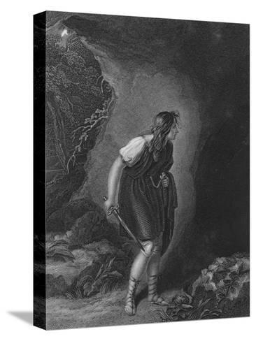 Act III Scene vi from Cymbeline, c19th century--Stretched Canvas Print