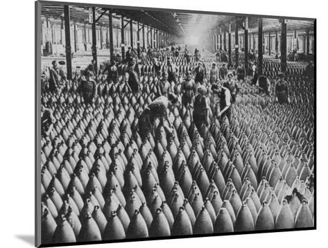 A munitions factory, World War I, 1917 (1938)-Horace Walter Nicholls-Mounted Photographic Print