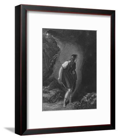 Act III Scene vi from Cymbeline, c19th century--Framed Art Print
