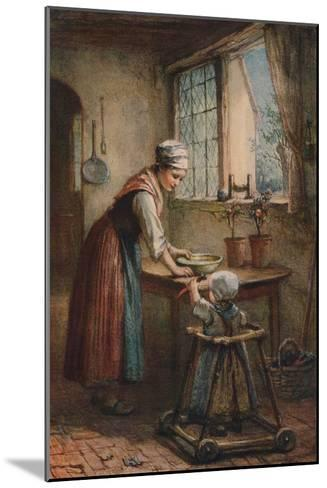 The Young Mother, c1887-Hugh Carter-Mounted Giclee Print